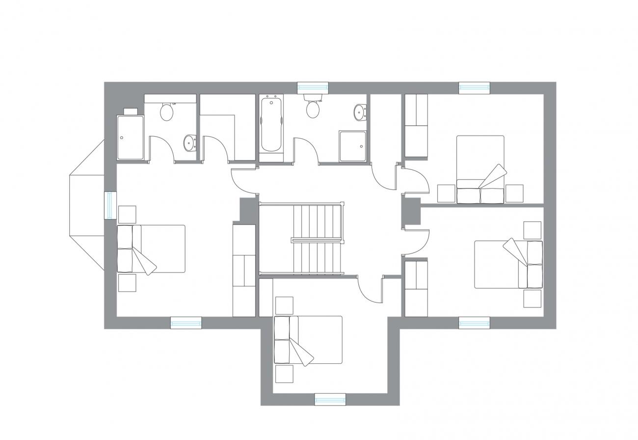 The Snaa - First Floor Plan