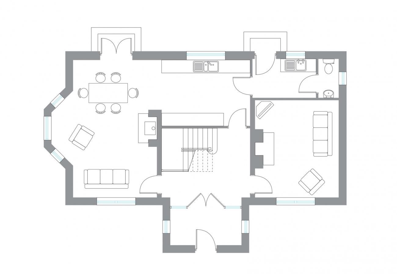 The Snaa - Ground Floor Plan