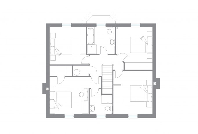 The Tully - First Floor Plan