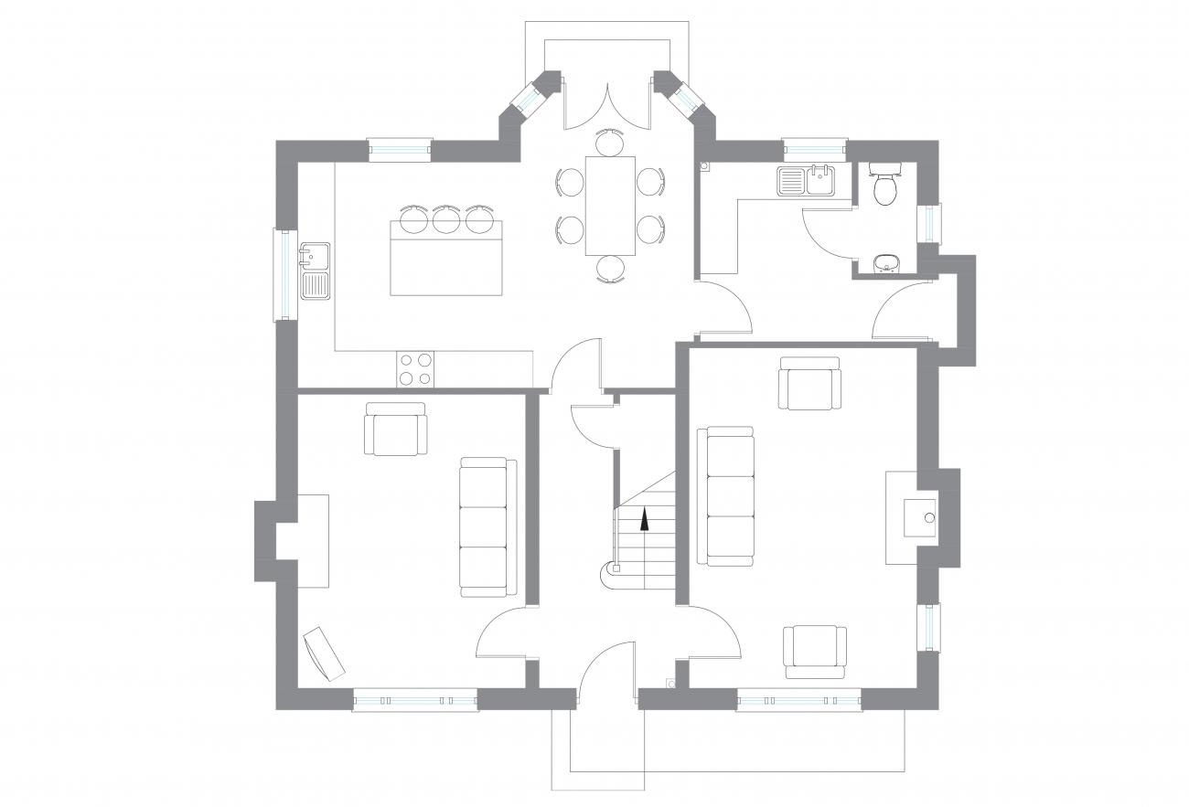 The Tully - Ground Floor Plan