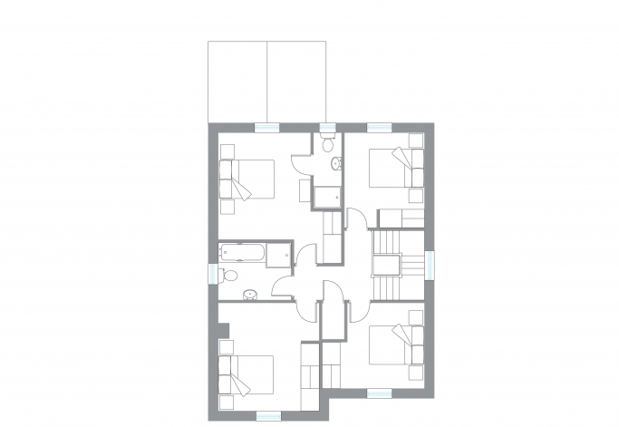 The Sika - First Floor Plan
