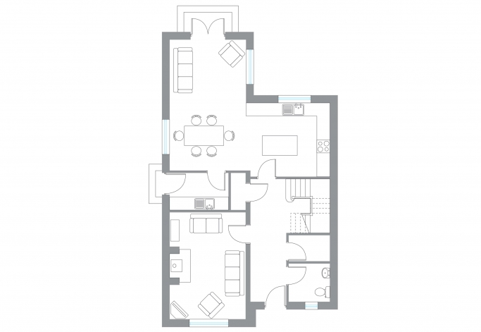 The Sika - Ground Floor Plan