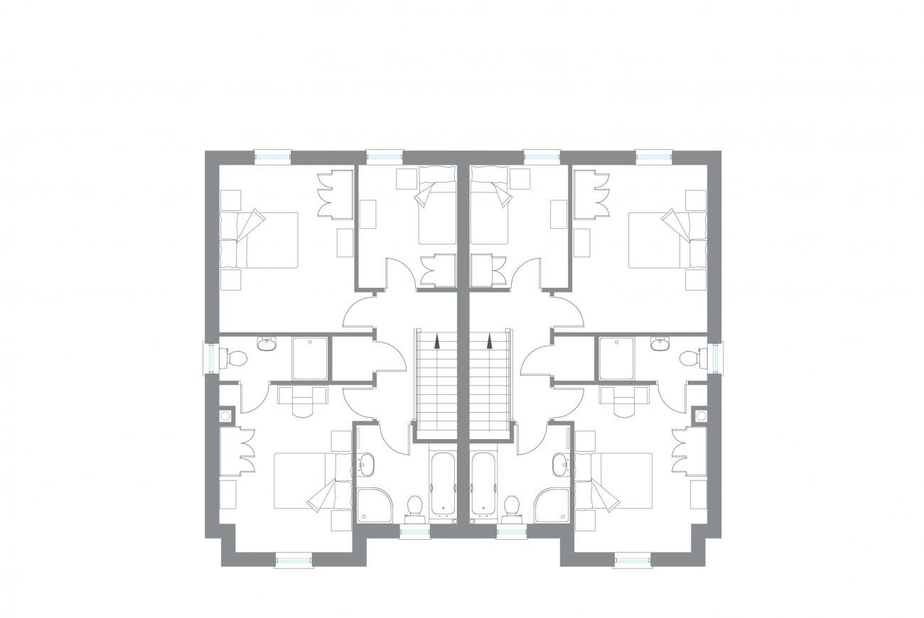 The Halfwater - First Floor Plan