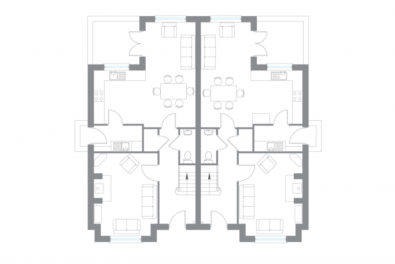 The Halfwater - Ground Floor Plan