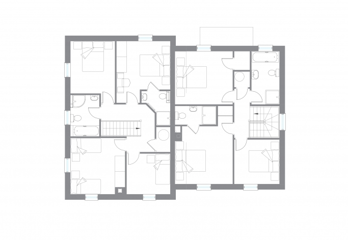 The Coles - First Floor Plan
