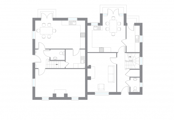 The Coles - Ground Floor Plan