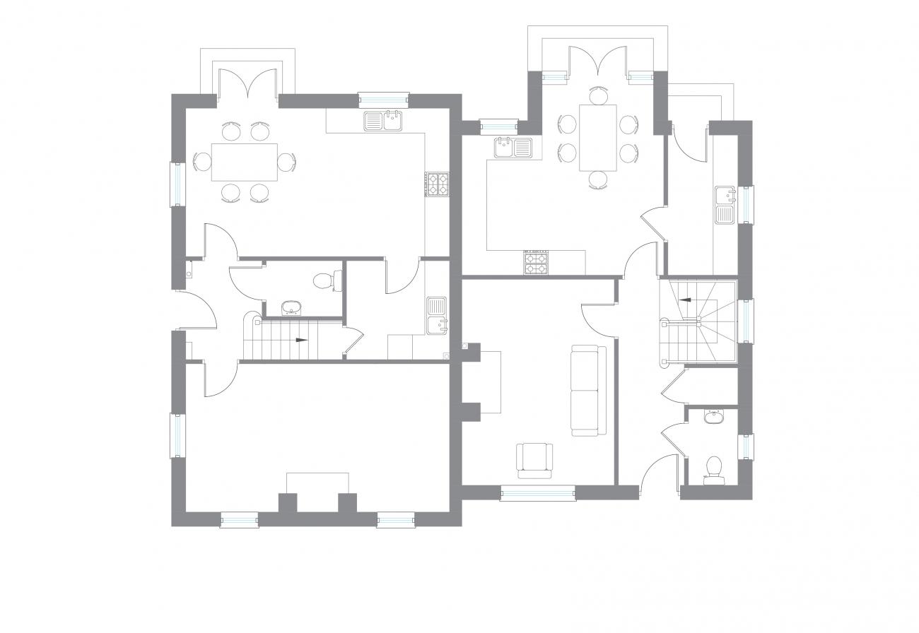 The Coles - Ground Floor Plan