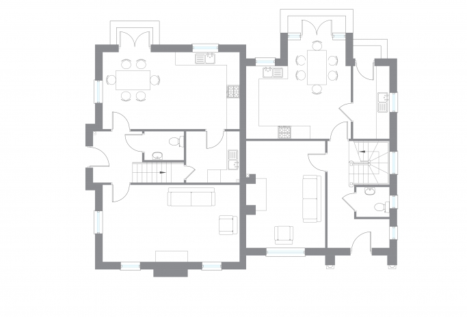 The Melvin - Ground Floor Plan