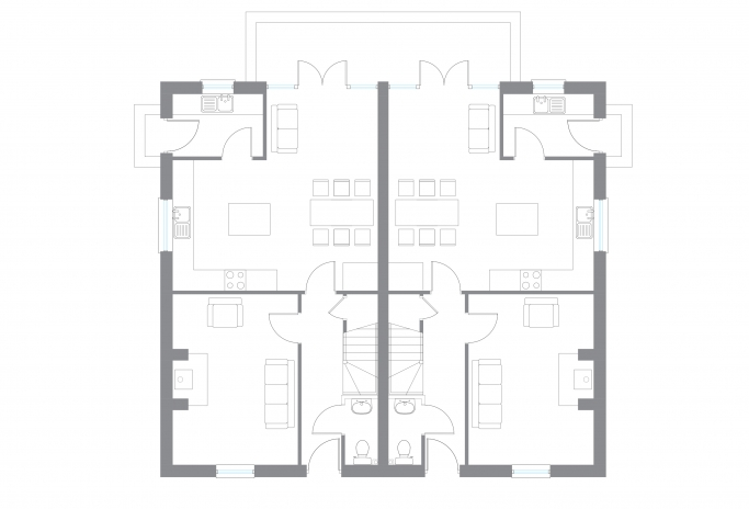 The Erne - Ground Floor Plan